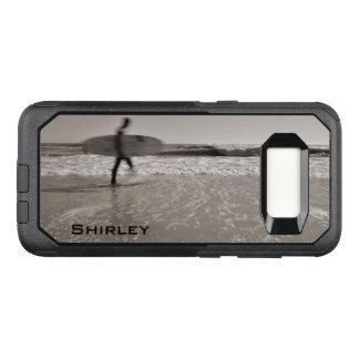 Capa OtterBox Commuter Para Samsung Galaxy S8 Surfista por Shirley Taylor