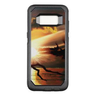 Capa OtterBox Commuter Para Samsung Galaxy S8 'Tandem