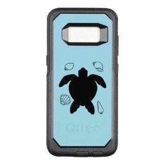 Capa OtterBox Commuter Para Samsung Galaxy S8 Tartaruga de mar com escudos do mar