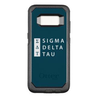 Capa OtterBox Commuter Para Samsung Galaxy S8 Tau | do delta do Sigma empilhado