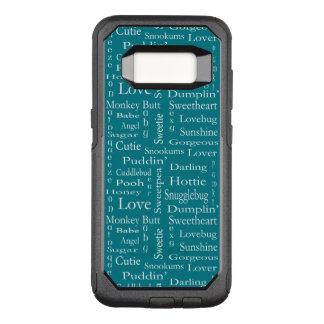 Capa OtterBox Commuter Para Samsung Galaxy S8 Termos do Endearment por Shirley Taylor