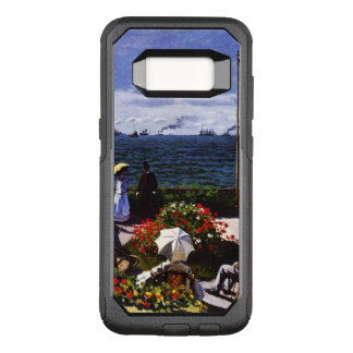 Capa OtterBox Commuter Para Samsung Galaxy S8 Terraço de Claude Monet-The em Sainte-Adresse