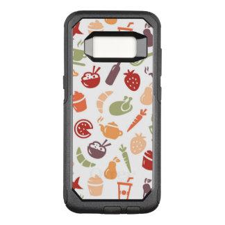 Capa OtterBox Commuter Para Samsung Galaxy S8 Teste padrão 2 da comida