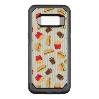 Capa OtterBox Commuter Para Samsung Galaxy S8 Teste padrão 2 do fast food