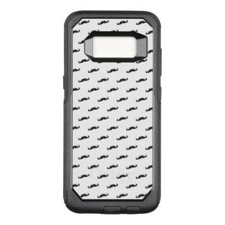 Capa OtterBox Commuter Para Samsung Galaxy S8 Teste padrão 2 do hipster do bigode