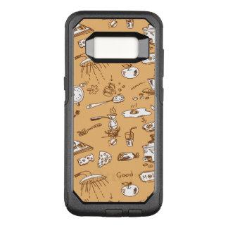 Capa OtterBox Commuter Para Samsung Galaxy S8 Teste padrão 2 do pequeno almoço