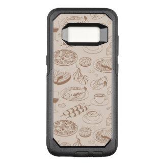 Capa OtterBox Commuter Para Samsung Galaxy S8 Teste padrão 3 da comida