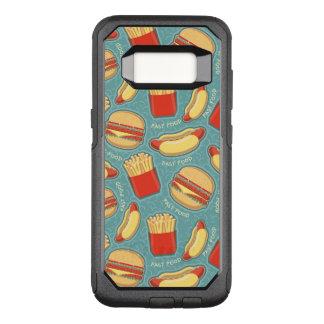 Capa OtterBox Commuter Para Samsung Galaxy S8 Teste padrão 3 do fast food