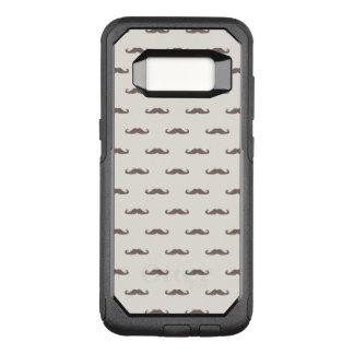 Capa OtterBox Commuter Para Samsung Galaxy S8 Teste padrão 3 do hipster do bigode