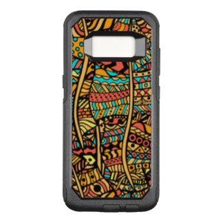 Capa OtterBox Commuter Para Samsung Galaxy S8 Teste padrão africano