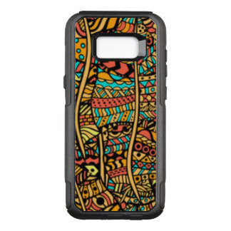 Capa OtterBox Commuter Para Samsung Galaxy S8+ Teste padrão africano