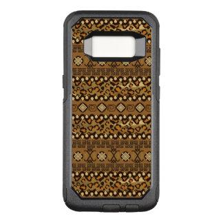 Capa OtterBox Commuter Para Samsung Galaxy S8 Teste padrão africano 2 da pele da chita