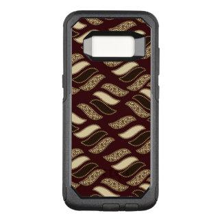 Capa OtterBox Commuter Para Samsung Galaxy S8 Teste padrão africano da pele da chita