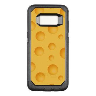 Capa OtterBox Commuter Para Samsung Galaxy S8 Teste padrão amarelo do queijo
