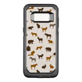 Capa OtterBox Commuter Para Samsung Galaxy S8 Teste padrão animal 1