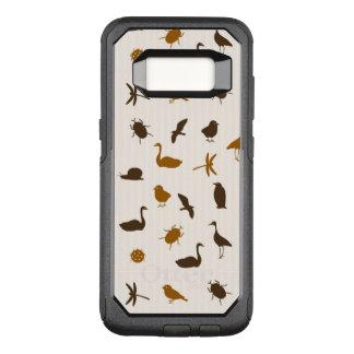 Capa OtterBox Commuter Para Samsung Galaxy S8 Teste padrão animal 2