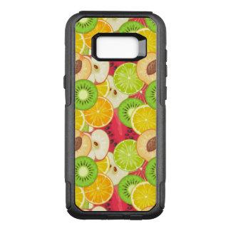 Capa OtterBox Commuter Para Samsung Galaxy S8+ Teste padrão colorido da fruta do divertimento