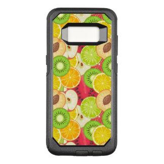 Capa OtterBox Commuter Para Samsung Galaxy S8 Teste padrão colorido da fruta do divertimento