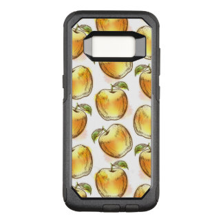 Capa OtterBox Commuter Para Samsung Galaxy S8 Teste padrão com amarelo
