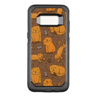 Capa OtterBox Commuter Para Samsung Galaxy S8 Teste padrão com gatos