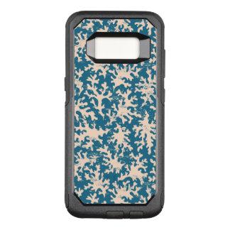 Capa OtterBox Commuter Para Samsung Galaxy S8 Teste padrão coral bonito