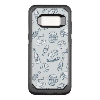 Capa OtterBox Commuter Para Samsung Galaxy S8 Teste padrão da comida
