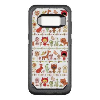 Capa OtterBox Commuter Para Samsung Galaxy S8 Teste padrão da criança e dos animais