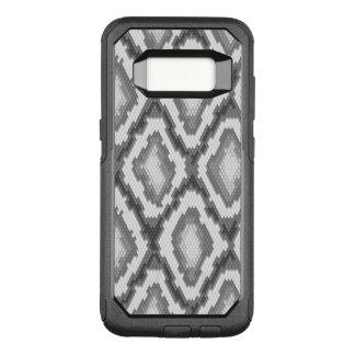 Capa OtterBox Commuter Para Samsung Galaxy S8 Teste padrão da pele de cobra do pitão