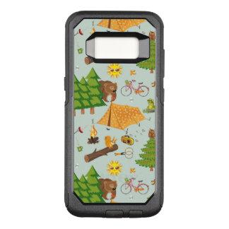 Capa OtterBox Commuter Para Samsung Galaxy S8 Teste padrão de acampamento