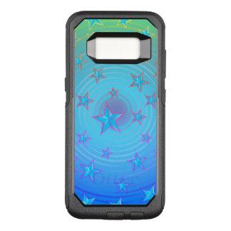 Capa OtterBox Commuter Para Samsung Galaxy S8 Teste padrão de estrelas com a cor ajustável