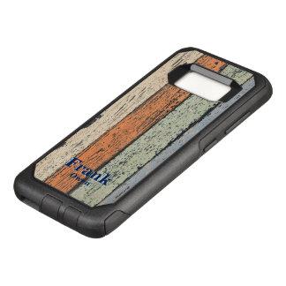 Capa OtterBox Commuter Para Samsung Galaxy S8 Teste padrão de madeira gasto