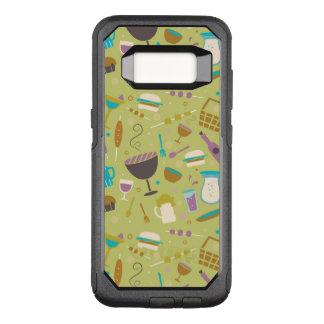 Capa OtterBox Commuter Para Samsung Galaxy S8 Teste padrão do assado