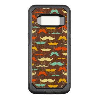 Capa OtterBox Commuter Para Samsung Galaxy S8 Teste padrão do bigode