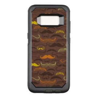 Capa OtterBox Commuter Para Samsung Galaxy S8 Teste padrão do bigode, estilo retro 5