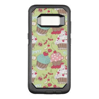 Capa OtterBox Commuter Para Samsung Galaxy S8 Teste padrão do cupcake