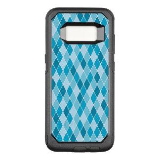 Capa OtterBox Commuter Para Samsung Galaxy S8 Teste padrão do inverno do Harlequin