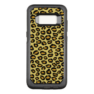 Capa OtterBox Commuter Para Samsung Galaxy S8 Teste padrão do leopardo