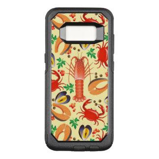 Capa OtterBox Commuter Para Samsung Galaxy S8 Teste padrão do marisco