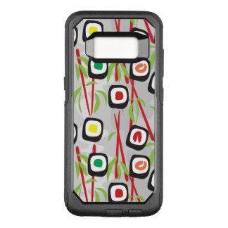 Capa OtterBox Commuter Para Samsung Galaxy S8 Teste padrão do sushi