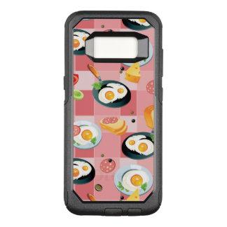 Capa OtterBox Commuter Para Samsung Galaxy S8 Teste padrão do tomate e dos ovos fritos