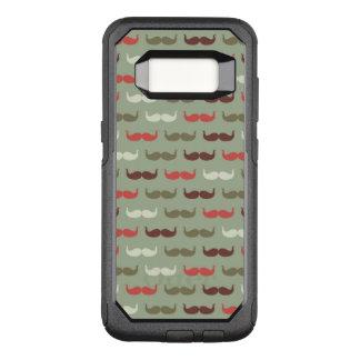 Capa OtterBox Commuter Para Samsung Galaxy S8 Teste padrão do vintage com bigode