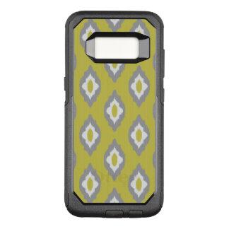 Capa OtterBox Commuter Para Samsung Galaxy S8 Teste padrão do vintage de Ikat