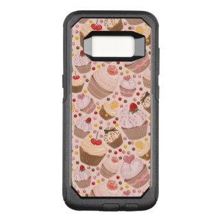 Capa OtterBox Commuter Para Samsung Galaxy S8 Teste padrão dos cupcakes comemorativos