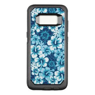 Capa OtterBox Commuter Para Samsung Galaxy S8 Teste padrão floral do hibiscus do surf