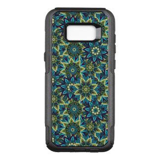 Capa OtterBox Commuter Para Samsung Galaxy S8+ Teste padrão floral étnico abstrato colorido da
