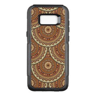Capa OtterBox Commuter Para Samsung Galaxy S8+ Teste padrão floral étnico abstrato colorido de da