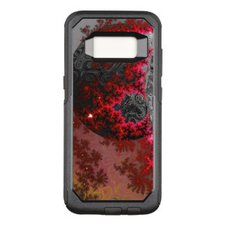 Capa OtterBox Commuter Para Samsung Galaxy S8 Teste padrão galáctico vívido da galáxia do