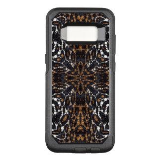 Capa OtterBox Commuter Para Samsung Galaxy S8 Teste padrão impresso de Bling do tigre