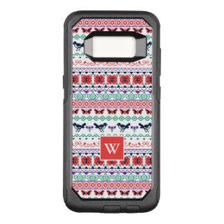 Capa OtterBox Commuter Para Samsung Galaxy S8 Teste padrão mexicano de Frida Kahlo |
