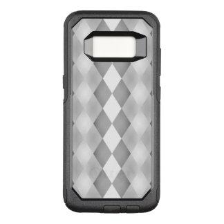 Capa OtterBox Commuter Para Samsung Galaxy S8 Teste padrão quadrado preto e branco abstrato